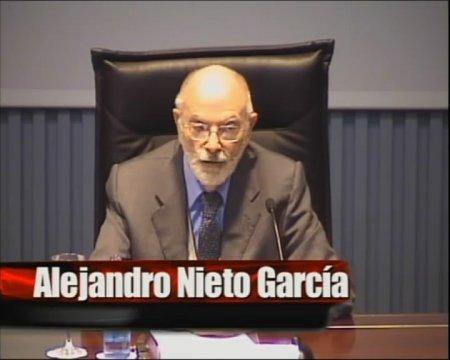 Alejandro Nieto García - Curso de Postgrao Interuniversitario sobre empresa pública e emprego público